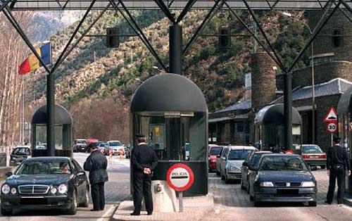 Douanes en Andorre