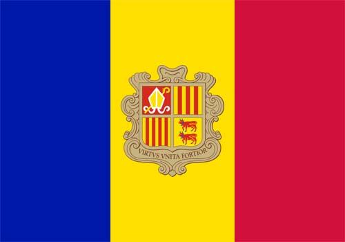Bandeira do Andorra