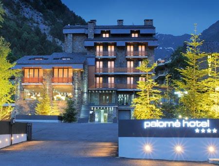 Hotel Palomé, Erts