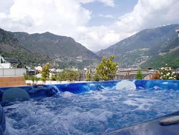 hotel andorra jacuzzi: